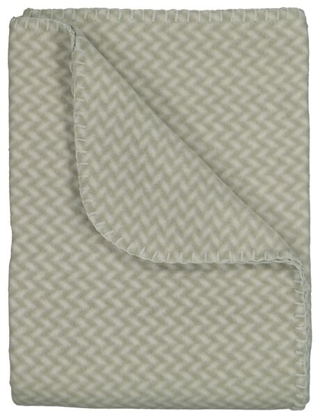 fleece plaid 130x150 mint - 7322019 - HEMA