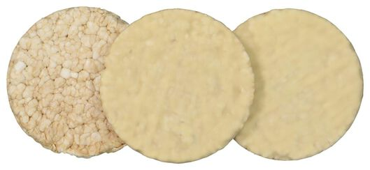 rijstwafels witte chocolade - yoghurt 2x3 stuks - 10840063 - HEMA