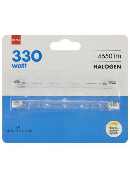 halogeen 330W - 4650 lumen - staaflamp - helder - 2 stuks - 20020052 - HEMA