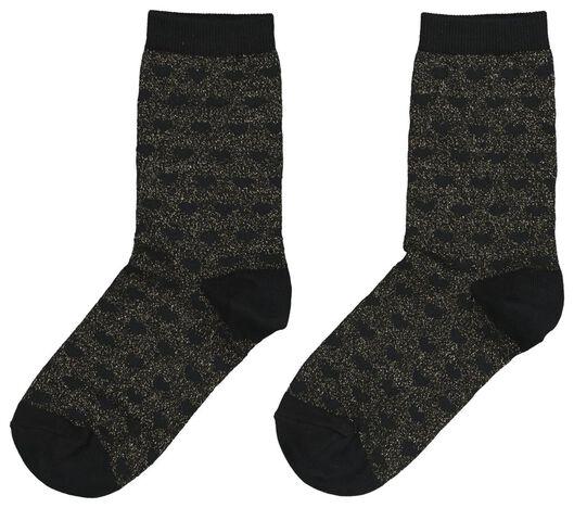 damessokken zwart zwart - 1000020047 - HEMA
