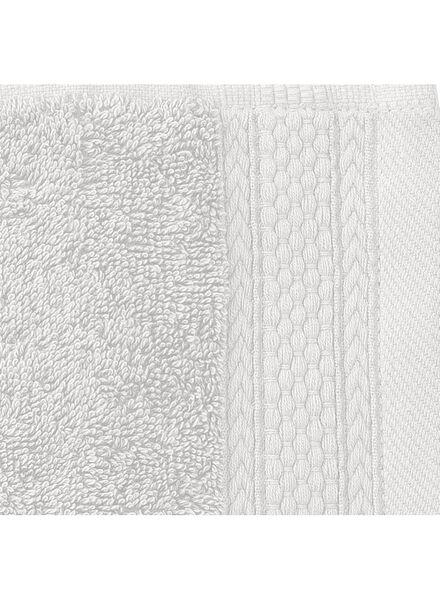 handdoek - 50 x 100 cm - hotel extra zwaar - lichtgrijs uni lichtgrijs handdoek 50 x 100 - 5240198 - HEMA