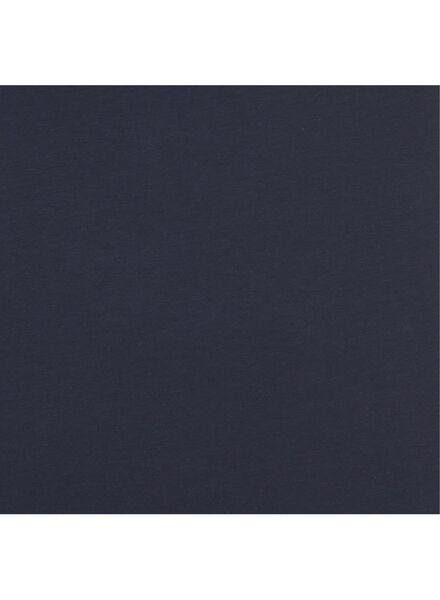 dames singlet - biologisch katoen donkerblauw M - 36388512 - HEMA