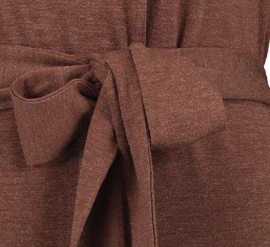 damesjurk bruin bruin - 1000021227 - HEMA