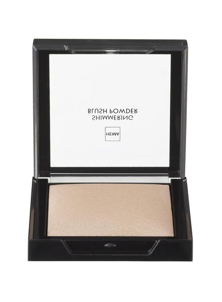 shimmering blush powder brilliant brown - 11294858 - HEMA