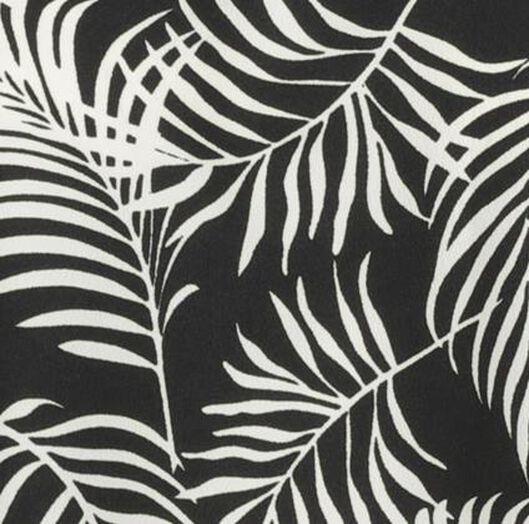 damesjurk zwart/wit M - 36278020 - HEMA