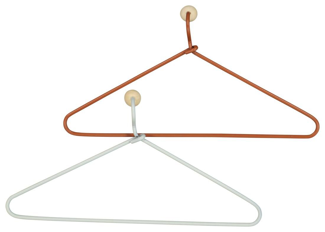 HEMA Hangers Voor Wandrek 2 Stuks