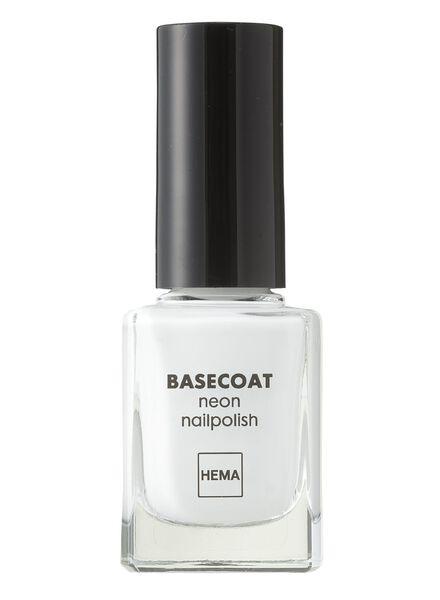 nagellak neon basecoat - 11240700 - HEMA