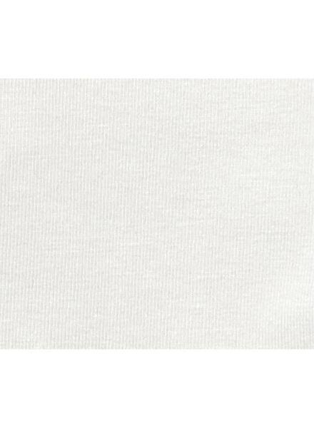 baby t-shirt bamboe gebroken wit gebroken wit - 1000012981 - HEMA