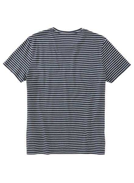 heren t-shirt blauw blauw - 1000012084 - HEMA