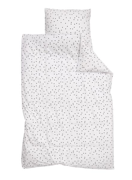 soft cotton kinderdekbedovertrek 140 x 200 cm - 5750101 - HEMA