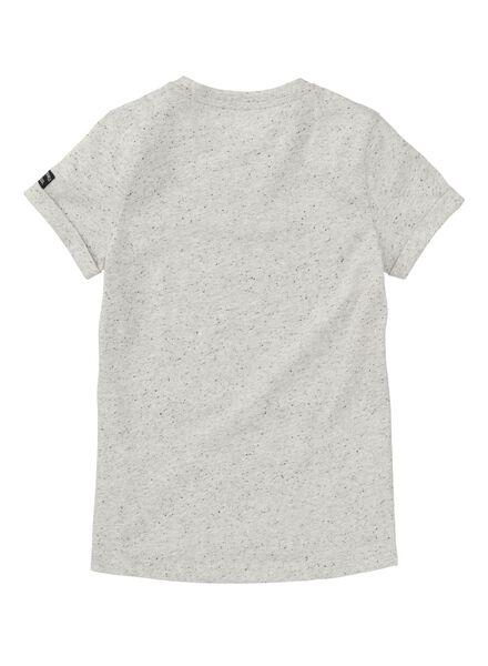 kinder t-shirt lichtgrijs lichtgrijs - 1000008246 - HEMA