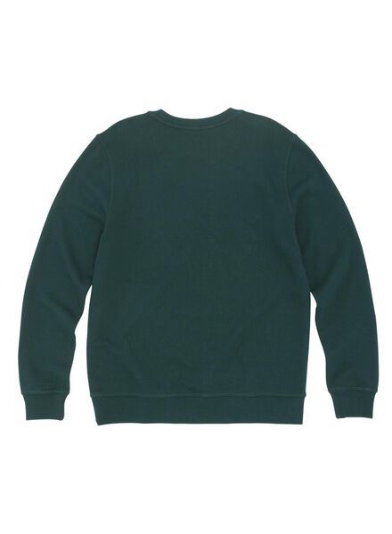 herensweater groen groen - 1000011835 - HEMA