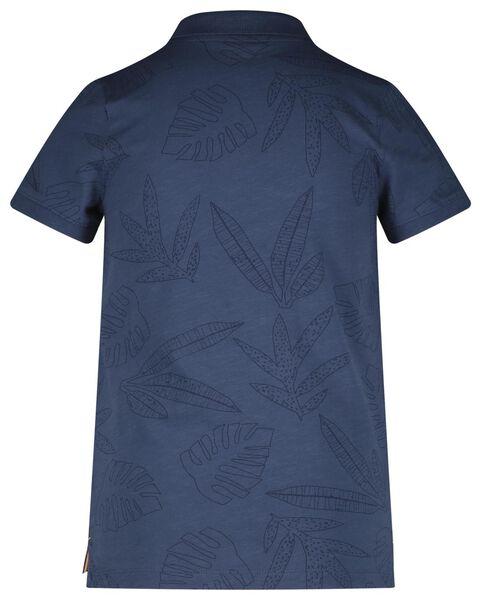 kinder poloshirt blauw blauw - 1000018581 - HEMA