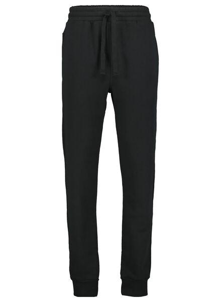 heren sweatbroek zwart zwart - 1000014301 - HEMA