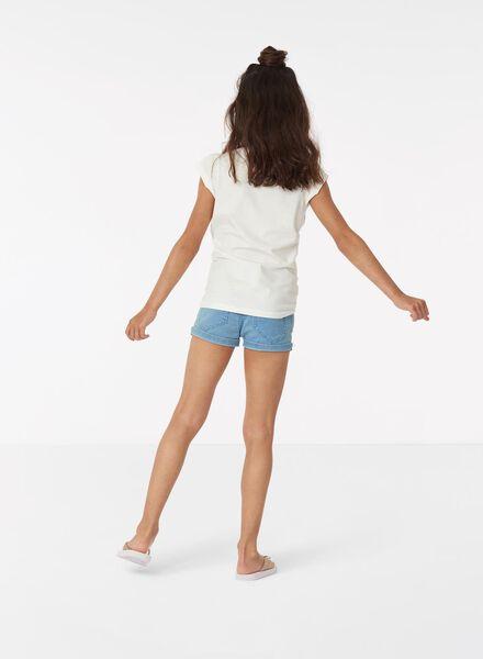 kinder t-shirt gebroken wit gebroken wit - 1000013409 - HEMA
