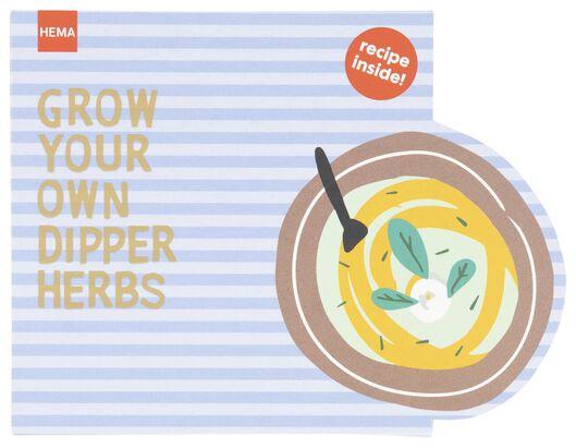 grow your meal - dipkruiden - 41810222 - HEMA