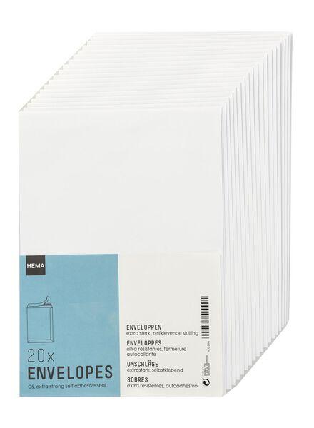 20-pak enveloppen - C5 - 14130016 - HEMA