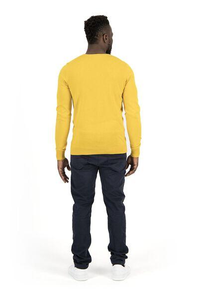 heren pullover geel geel - 1000018184 - HEMA