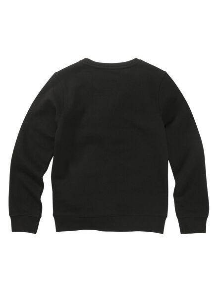 kindersweater zwart zwart - 1000011038 - HEMA