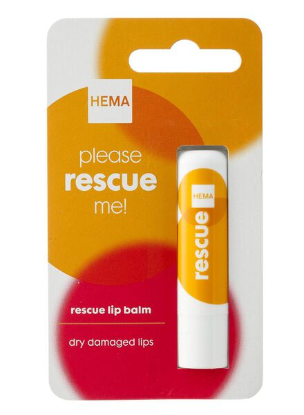 lippenbalsem rescue - 17855001 - HEMA