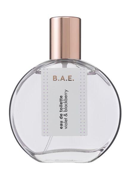 B.A.E. eau de toilette violet and blackberry 50ml - 17730003 - HEMA