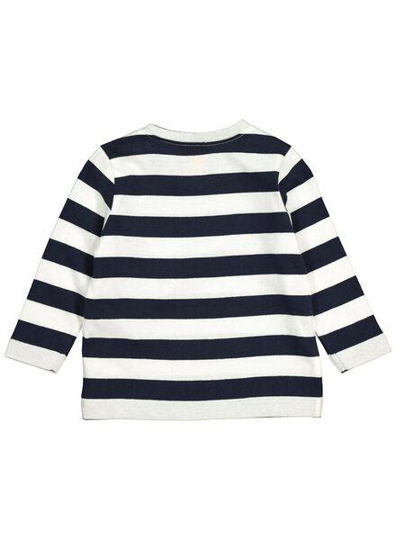 baby t-shirt donkerblauw donkerblauw - 1000014253 - HEMA