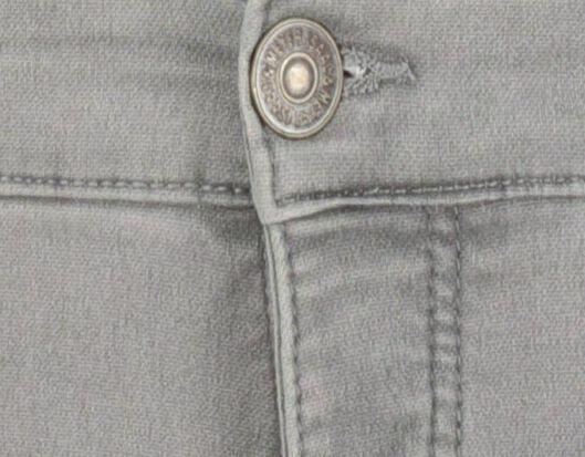 heren jogdenim short grijs grijs - 1000019173 - HEMA