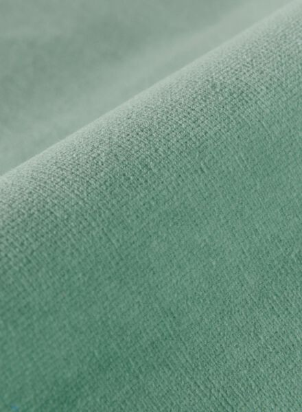 gordijnstof velours groen - 1000016058 - HEMA
