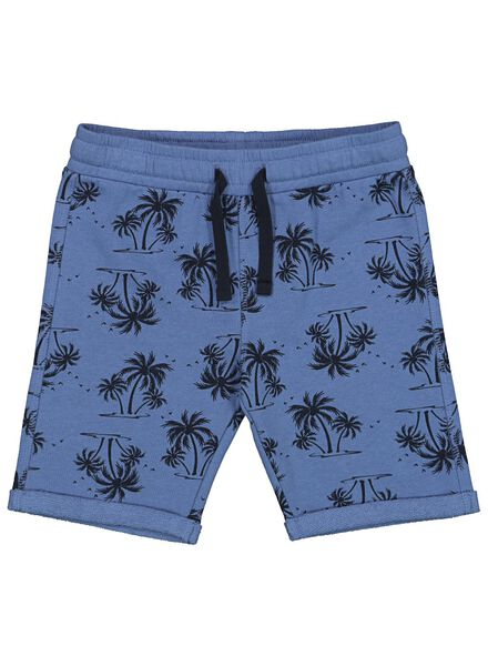 2-pak kinder sweatbroeken blauw blauw - 1000013320 - HEMA