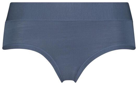 dameshipster modal middenblauw middenblauw - 1000025040 - HEMA