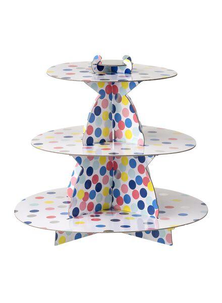 kartonnen etagère - 30 cm - confetti - 14230067 - HEMA