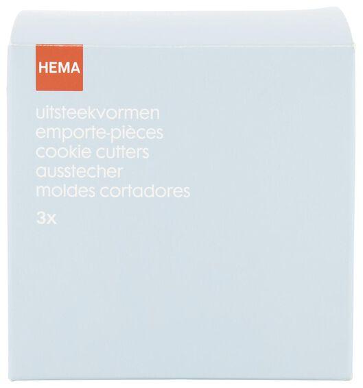uitdrukvormpjes - 3 stuks - 80842028 - HEMA