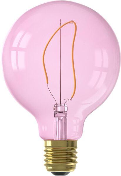 LED lamp 4W - 150 lm - globe - G95 - roze - 20000020 - HEMA