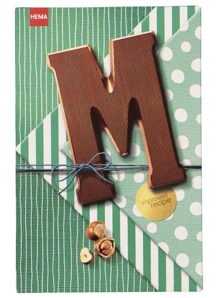chocoladeletters hazelnoot melk - 160 gram hazelnoot melk - 1000017369 - HEMA