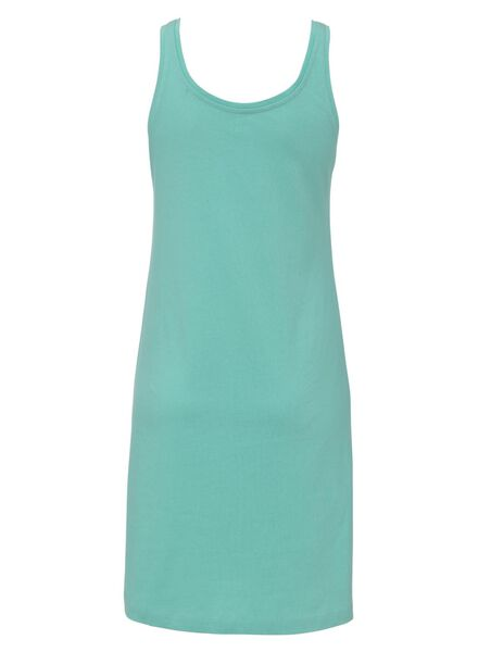 damesnachthemd groen groen - 1000011815 - HEMA