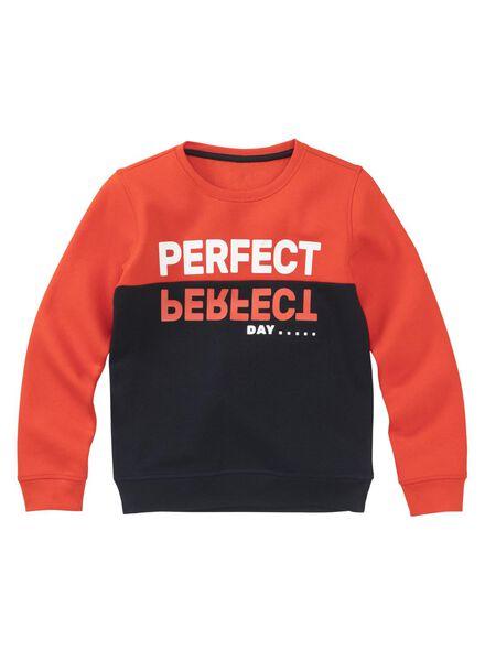 kindersweater oranje oranje - 1000008587 - HEMA