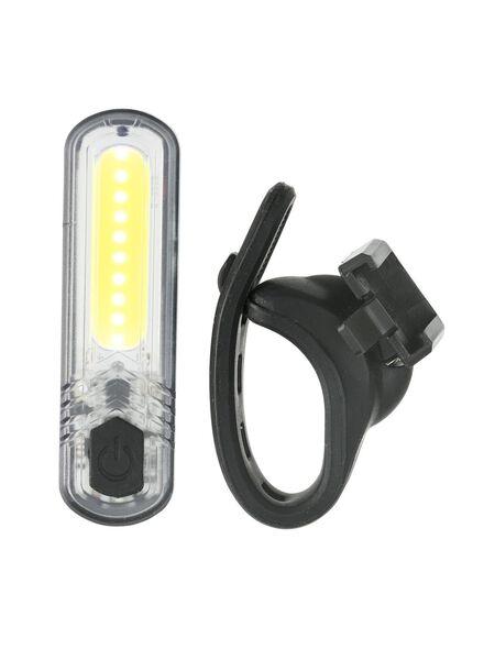 oplaadbare LED fietsslamp wit - 41198118 - HEMA