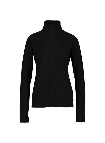 dames sportjas grijsmelange grijsmelange - 1000013906 - HEMA