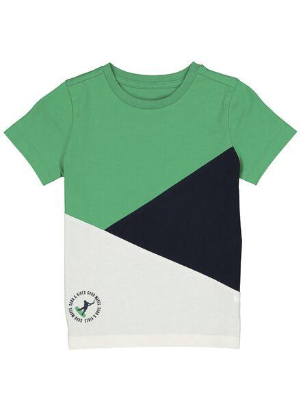 kinder t-shirt groen groen - 1000013852 - HEMA