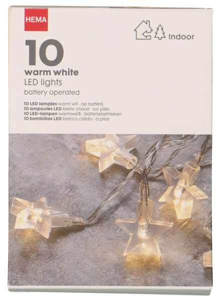 LED kerstverlichting 10 lampjes - 25590005 - HEMA