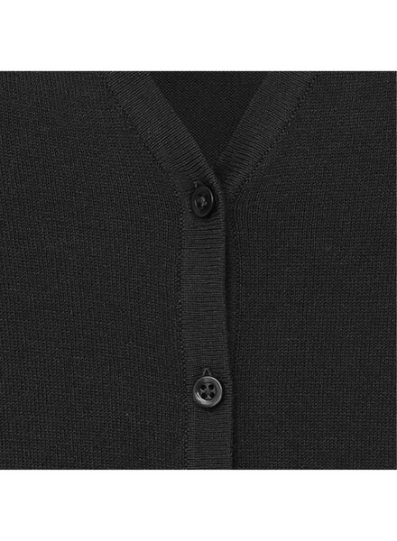 dames vest zwart zwart - 1000004958 - HEMA