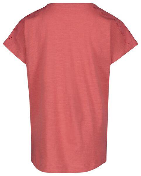2-pak kinder t-shirts roze roze - 1000019092 - HEMA