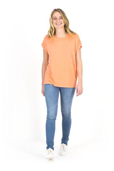 dames jeans - skinny fit lichtblauw lichtblauw - 1000018244 - HEMA