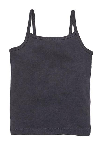 2-pak kinderhemden donkerblauw 86/92 - 19310530 - HEMA