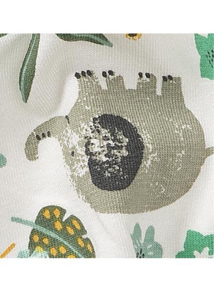 newborn baby pofbroek gebroken wit gebroken wit - 1000013444 - HEMA