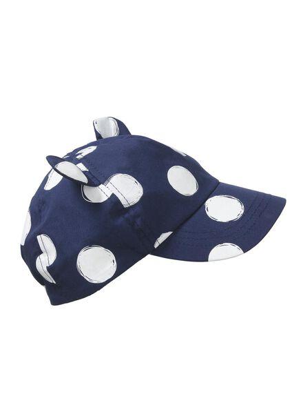 babypet UV-beschermend donkerblauw donkerblauw - 1000012810 - HEMA
