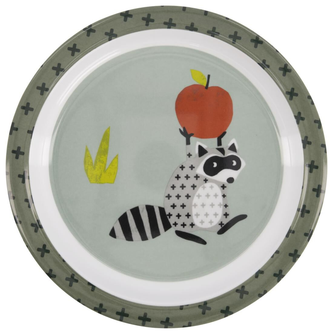 HEMA Ontbijtbord Ø 21 Cm Melamine Wasbeer