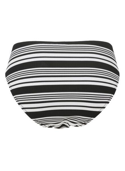 dames bikinislip zwart/wit zwart/wit - 1000012159 - HEMA