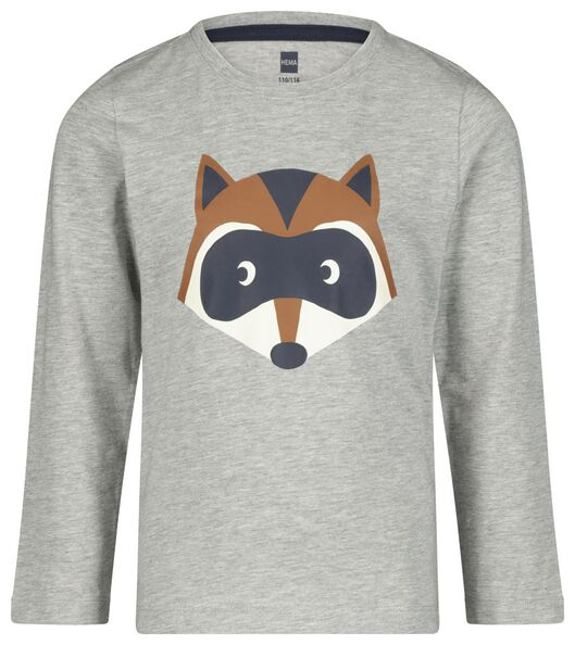 kinderpyjama wasbeer bruin bruin - 1000020651 - HEMA