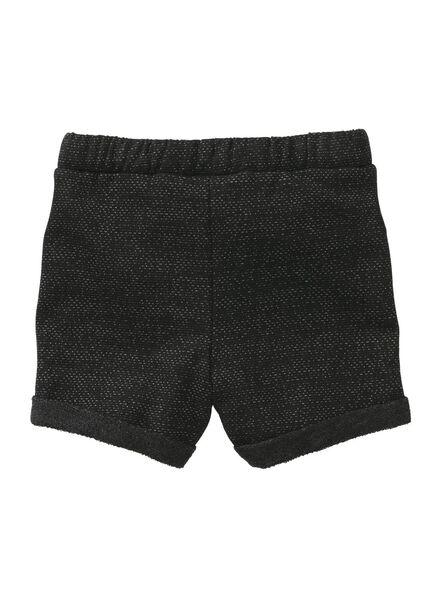 babyshort zwart zwart - 1000007258 - HEMA